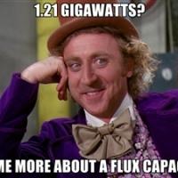 1.21 Gigawatts - Gene Wilder Meme