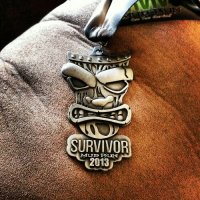 Survivor Mud Run Seattle Medal