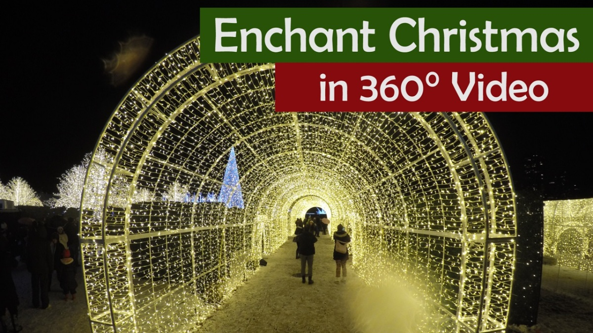 Enchant Christmas filmed in 360°