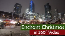 Vancouver BC Christmas Market Video