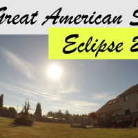 2 Solar Eclipse Videos from Arlington WA