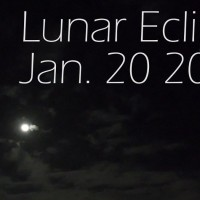 January 2019's Lunar Eclipse from my House